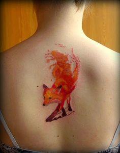 50 Tatuajes de zorros y su simbolismo | Belagoria | la web de los tatuajes