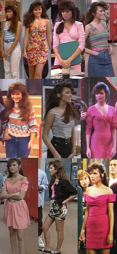 "Wait – Kelly outfits you might actually wear. | The Ultimate Guide To ""Saved By The Bell"" Fashion"