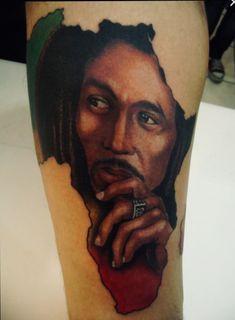 Bob Marley Tattoo on Arm Wild At Heart Tattoo, Friend Tattoos Small, Matching Best Friend Tattoos, Small Tattoos, Name Tattoo Designs, Tattoo Designs For Women, Bob Marley Tattoos, Freundin Tattoos, 12 November