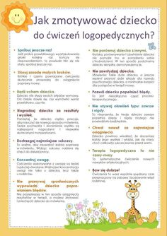 Ćw logopedycze Speech And Language, Classroom Organization, Speech Therapy, Little Babies, Kids And Parenting, Kids Learning, Kids Playing, Montessori, Fun Facts