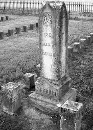 Confederate Grave Marker ... Confederate Cemetery ... Franklin, Tennessee