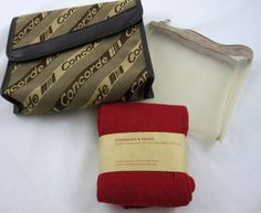 Concorde Airline Amenity Kit Bag Sleep Eyeshades & Socks Charles Frantz Paris    eBay