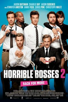 Horrible Bosses 2 (2014) Directed & Screenplay by #SeanAnders Starring #JasonBateman #CharlieDay #JasonSudeikis #JenniferAniston #JamieFoxx #ChrisPine #ChristophWaltz #HorribleBosses2 #Hollywood #hollywood #picture #video #film #movie #cinema #epic #story #cine #films #theater #filming #opera #cinematic #flick #flicks #movies #moviemaking #movieposter #movielover #movieworld #movielovers #movienews #movieclips #moviemakers #animation #drama #filmmaking #cinematography Charlie Day, Hd Movies Online, New Movies, Good Movies, Movies And Tv Shows, Funniest Movies, Movies Free, Watch Movies, Justine Bateman
