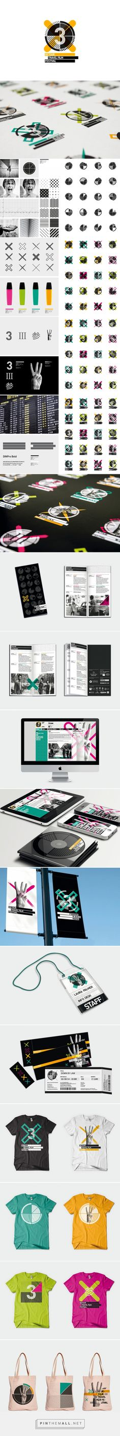 Detour Travel Film Festival 2014 / Dynamic Identity on Behance - created via https://pinthemall.net