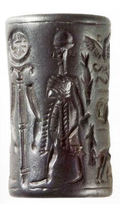 Hittite, seal, Kültepe- Kaniş 1800-1730 (Tahsin Özgüç)  (Erdinç Bakla archive)