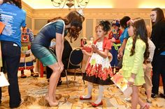 Cancer Patients Experience Stardom for a Day - Childrens Med Dallas Blog - CCF 2013 show backstage
