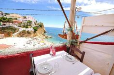 Lunch here - definitely - Tia Ilda, Carvoeiro, Algarve - Portugal