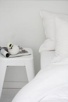white bedroom. from elisabeth heier