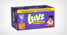 With Luvs coupons, not only is Luvs diapers kind on your baby, they're also kind on your wallet. Visit the Luvs site and get your Luvs coupon for $0.50 off!