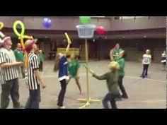 Balloon Nite Game Time at Awana - YouTube