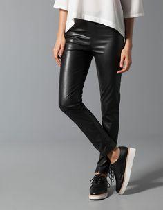 Leggings εφέ δέρμα