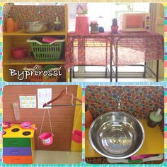 Cozinha da nossa sala #2016 #playkitchen #preschool #educaçãoinfantil #byprirossi #DIY