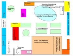 Kindergarten classroom layout kindergarten ideas for Design a preschool classroom floor plan online
