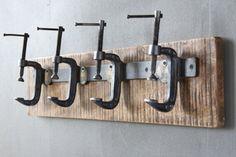 Industrial Clamp Coat Hanger                                                                                                                                                                                 More