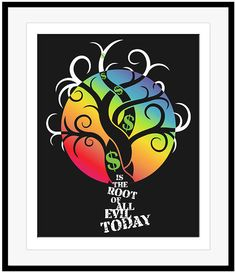 Pink Floyd - MONEY - Song Lyrics Art Print Poster, Classic Rock Music Artwork #ebay #darksideofthemoon #pinkfloyd #songlyricsart #nowspinnint #70smusic