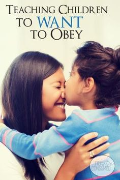 "Are you tired of ""because I said so""? Do you find yourself wishing that your children would actually WANT to obey? You're not alone. Teaching obedience isn't easy, but it is possible. You'll love the tools, tips, and encouragement that we can get from God's Word on this topic. by wteresa"