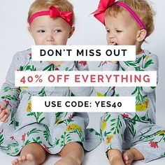 Pssst... tag all your friends.  You DO NOT want to miss this! #eofysale #littlestyles