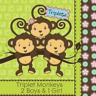http://www.bigdotofhappiness.com/baby-shower/baby-shower-themes/triplets-baby-shower-themes.html