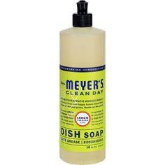 Mrs. Meyer's Liquid Dish Soap - Lemon Verbena - 16 oz
