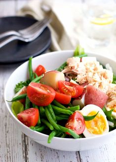 Nicoise Salad is easy to make and absolutely delicious!