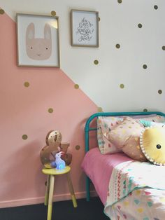 Design for a 5 year old princess #girlsroom #interiordesign