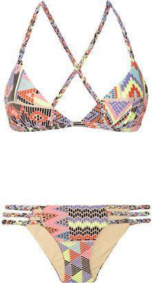 Mara Hoffman printed #bikini