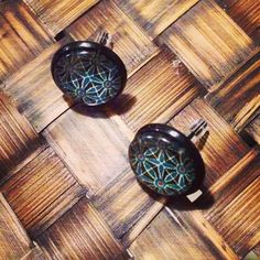 #pendientes #azul #negro #earrings #blue #black #diy #handmade #abstract #abstracto #new #nuevo #georgiuslook #foryou #girls #allgoodthings