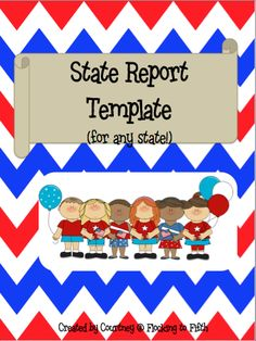 get this 13 page PDF for state reports for FREE!