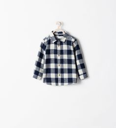 CHECKED SHIRT from Zara Baby Boy AW14