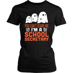 School Secretary - Halloween Ghost