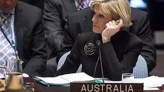 Unpopular stance: Foreign Affairs Minister Julie Bishop at the UN. Tony Abbott, Love Affair, Climate Change, New York, Australia, News, New York City, Nyc