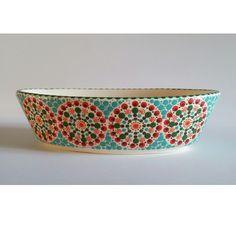 Dip & Dot Idea for bowl: string of circles