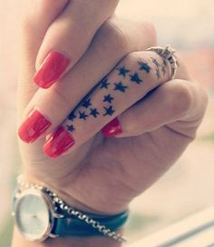 Twitter Pinterest Gmail If you are on the fence about getting a tattoo, perhaps you should consider getting a smaller design on your thumb, little finger, middle or ring finger. Tattoos on fingers are all the rage today because you can utilize a tiny image that has a personal connection with you and can be …