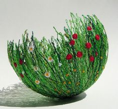 Meadow Bowl by chocolatefrog on Etsy, $72.00