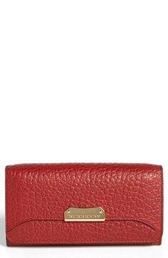 Little red wallet from Burberry @Nordstrom