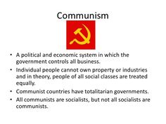 totalitarian communism paper Totalitarianism term papers available at planetpaperscom, the largest free term paper community.