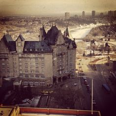 @calhobbsjr CLASSIC @FairmontMAC Ive never seen you from this view before #yegdt #architecture #instagood