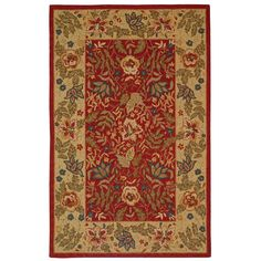 Shop Safavieh  HK140C Chelsea Area Rug, Red at Lowe's Canada. Find our selection of area rugs at the lowest price guaranteed with price match + 10% off.