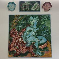 #GiovanniCopelli #Amanti @operativa_arte 29 Sep 2017 - 18 Sep 2017 #art #exhibition #rome #contemporaryart #painting #oiloncanvas #wheninrome #romegallerytours @giovannicopelli