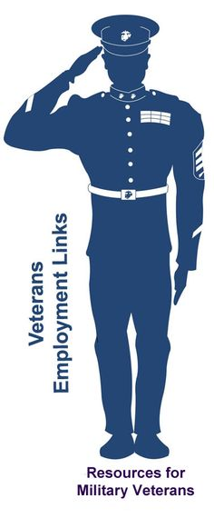 Veterans employment links including career resources, job banks, government (VA) job information and more.
