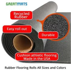 Wholesale Durable Gym & Industrial Rubber Mats & Flooring Rolls Fake Wood Flooring, Rubber Flooring, Rubber Floor Mats, Rubber Mat, Basement Gym, Basement Ideas, Workout Room Home, Diy Home Gym, Easy Rolls