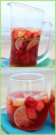 Rosé Sangria #summer #cocktail #recipe