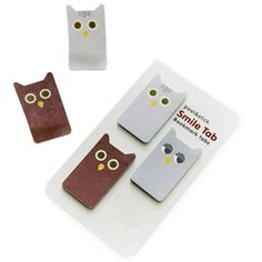Animal Bookmark Tabs - Owl