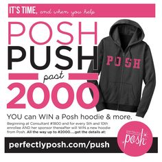 Who is ready to take a gamble on a amazing new company and a chance to earn a awesome hoodie! www.perfectlyposh.us/dar