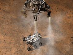 NASA - A Moment After Curiosity's Touchdown, Artist's Concept