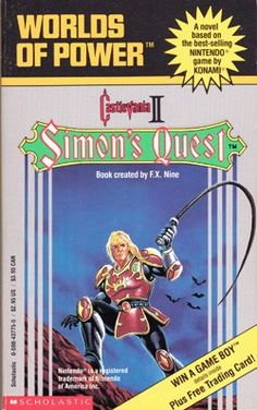 The Unbelievably Bizarre Worlds of Power Novel Based on Castlevania II - ComicsAlliance | Comic book culture, news, humor, commentary, and reviews : I had Ninja Gaiden and Blaster Master when I was a kid and loved reading them.