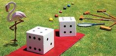 Day wedding garden games