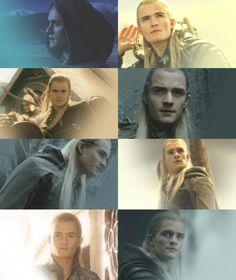 Legolas <---- oh god, the bottom left one tho <------- ikr i need him in my life Legolas And Thranduil, Tauriel, Aragorn, The Hobbit Movies, O Hobbit, Fellowship Of The Ring, Lord Of The Rings, Orlando Bloom Legolas, Thorin Oakenshield