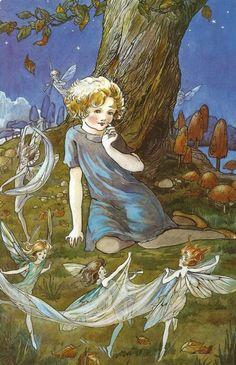 Yo ¡SI! creo en las hadas, elfos y gnomos de los bosques ¡son mis mejores amigos!
