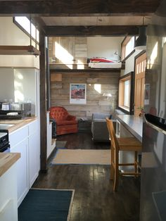 Tiny house nation 207 sq ft house episode 8 minnesota for Cost to build a house in mn